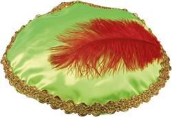 Baret Groen (Satijn)