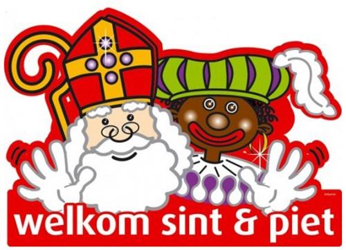 Deurbord Welkom Sint & Piet