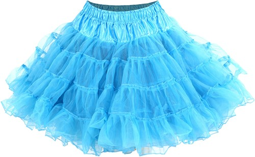 Turquoise Petticoat (2 laags)