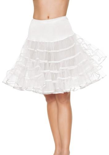 Luxe Witte Lange Petticoat (2 lagen)