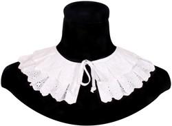 Zwarte Pieten Kraag Benidorm Luxe Wit