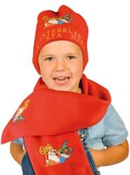 Sjaal+Muts Fleece Sinterklaas