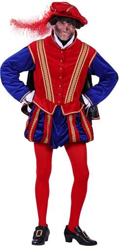 Pietenpak 'San Sebastian' voor heren Rood/Blauw