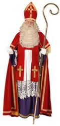 Kostuum Sinterklaas Fluweel TV Bram