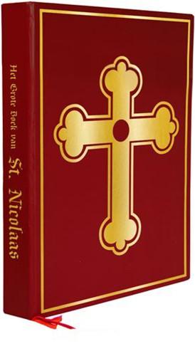 Het Boek Van Sinterklaas (rood met goud)