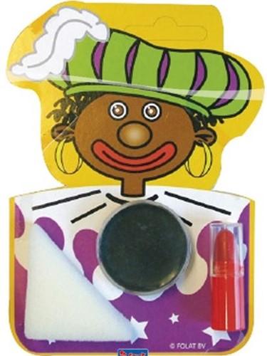 Schmink setje Zwarte Piet