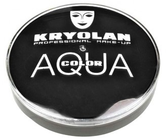 Kryolan Aquacolor Zwart 071 (55ml)