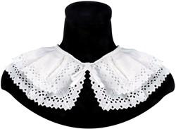 Zwarte Pieten Kraag Pedro Luxe Wit