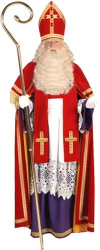 Kostuum Sinterklaas Fluweel TV Bram (smal)