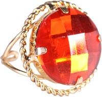 Ring Sinterklaas Goud/Rood (ronde diamant)