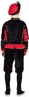 Zwarte met Rode Kinderkostuum Zwarte Piet-2