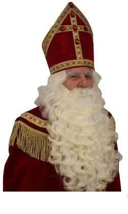 Sinterklaas Baardstel Kanekalon
