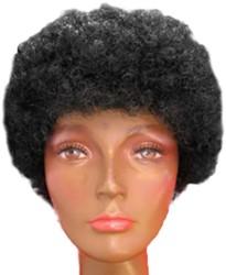 Afro Pietenpruik Zwart
