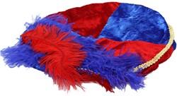 Blauwe met Rode Baret Zwarte Piet (Pansamt)