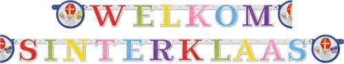 Letterslinger Welkom Sinterklaas (260 centimeter)-2