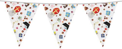 Vlaggenlijn Sinterklaas Strooigoed (10m)