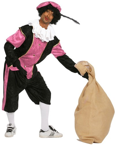 Heren Budget Piet Pansamt Roze