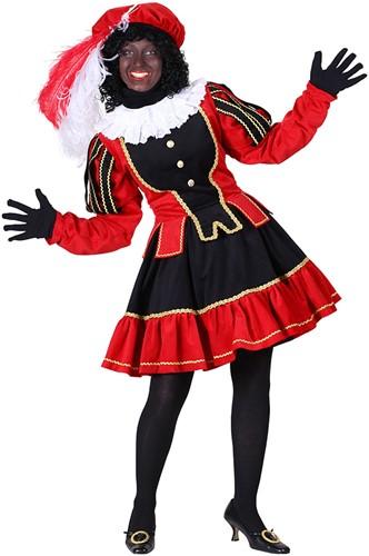 Dames Pietenpak Murcia Zwart/Rood