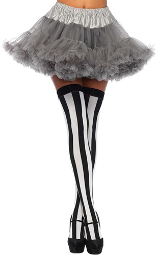 Luxe Grijze Petticoat (2 lagen)