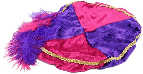 Pink met Paarse Baret Zwarte Piet (Pansamt)