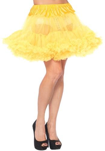Luxe Gele Petticoat (2 lagen)