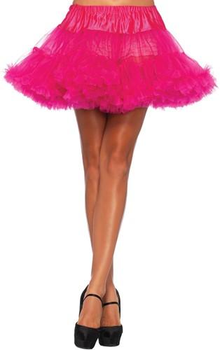 Luxe Fuchsia Petticoat (2 lagen)