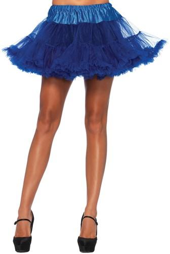 Luxe Blauwe Petticoat (2 lagen)