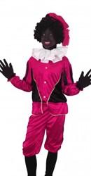 Kinderkostuum Zwarte Piet Pink