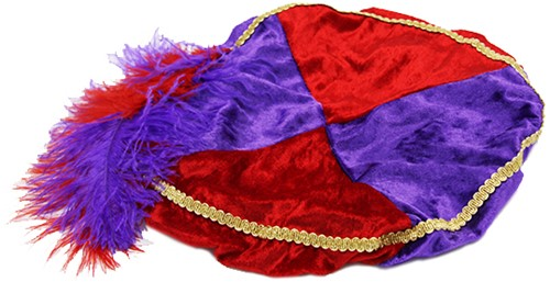 Rode met Paarse Baret Zwarte Piet (Pansamt)