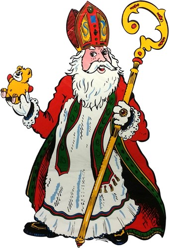 Raamdeco Sinterklaas (assorti) -3
