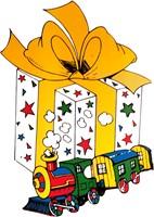 Raamdeco Sinterklaas (cadeau)