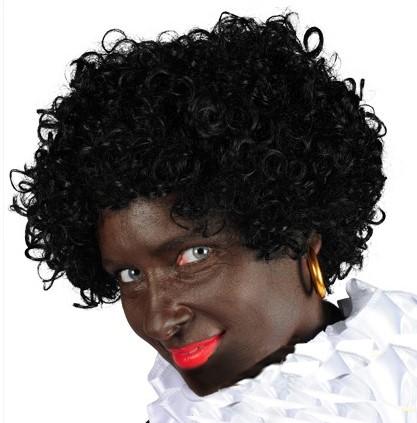 Pruik Piet Black Jack Luxe
