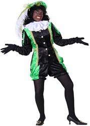 Pietenpak voor dames Castillie Zwart/Groen