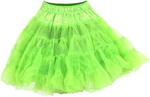 Petticoat Neon Groen Luxe (2 laags)