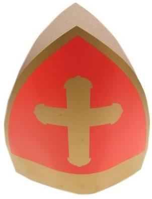 Mijter Sinterklaas Karton