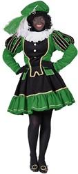 Pietenpak Murcia Zwart/Groen voor dames