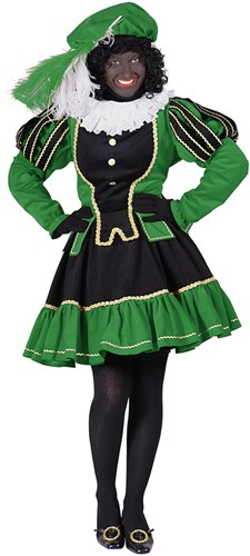 Dames Pietenpak Murcia Zwart/Groen