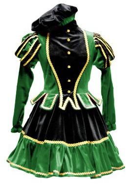 Dames Pietenpak Murcia Zwart/Groen -2