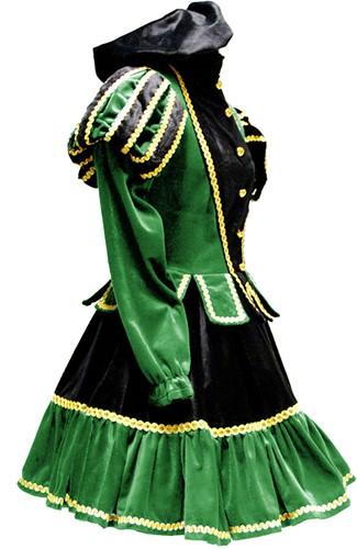 Dames Pietenpak Murcia Zwart/Groen -3