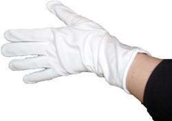 Stretch Handschoenen Wit Luxe