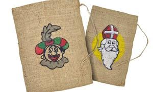 Sinterklaaszakken en Jute zakken kopen bij Pietenland
